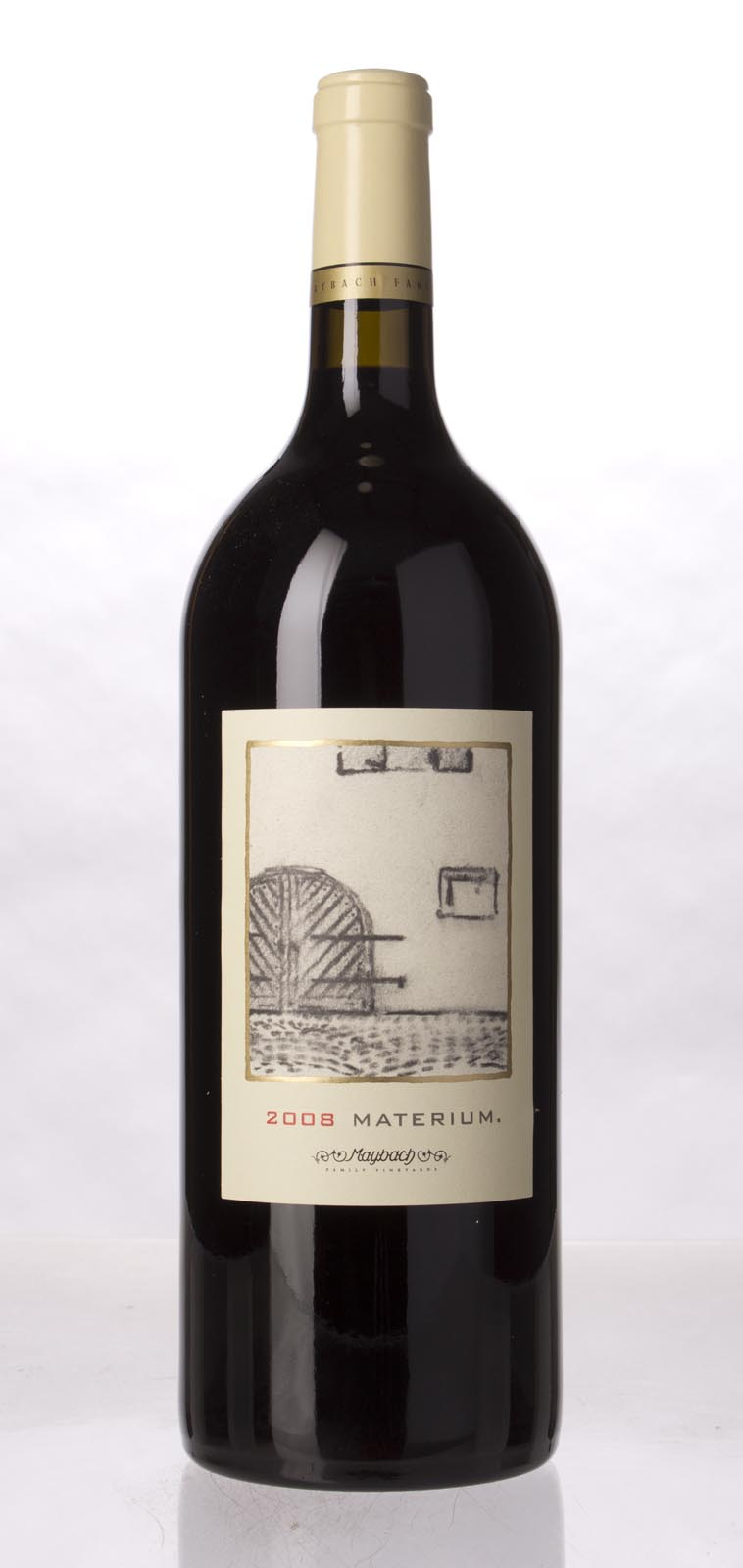 Maybach Family Vineyards Cabernet Sauvignon Materium 2008, 1.5L (WA96, ST94, WS94) from The BPW - Merchants of rare and fine wines.