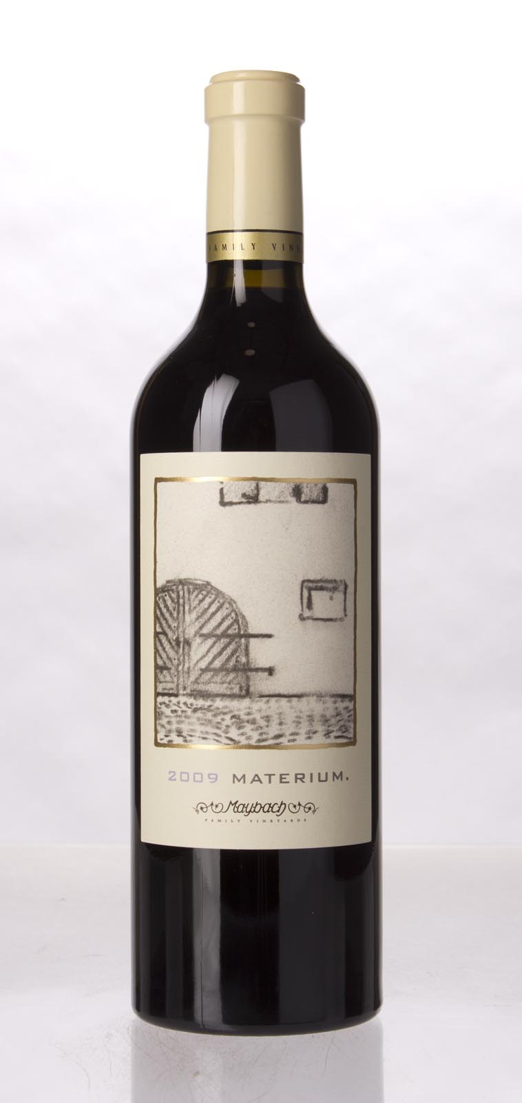 Maybach Family Vineyards Cabernet Sauvignon Materium 2009, 750mL (WA94, ST94, WS92) from The BPW - Merchants of rare and fine wines.
