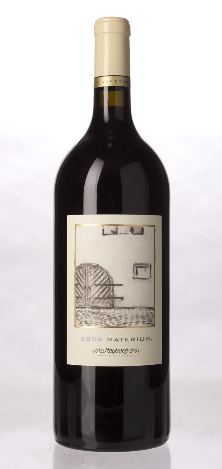 Maybach Family Vineyards Cabernet Sauvignon Materium 2009, 1.5L (WA94, ST94, WS92) from The BPW - Merchants of rare and fine wines.