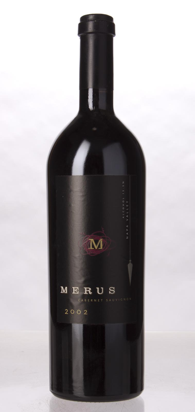 Merus Cabernet Sauvignon Napa Valley 2002, 750mL (WA94+, ST94, WS96) from The BPW - Merchants of rare and fine wines.