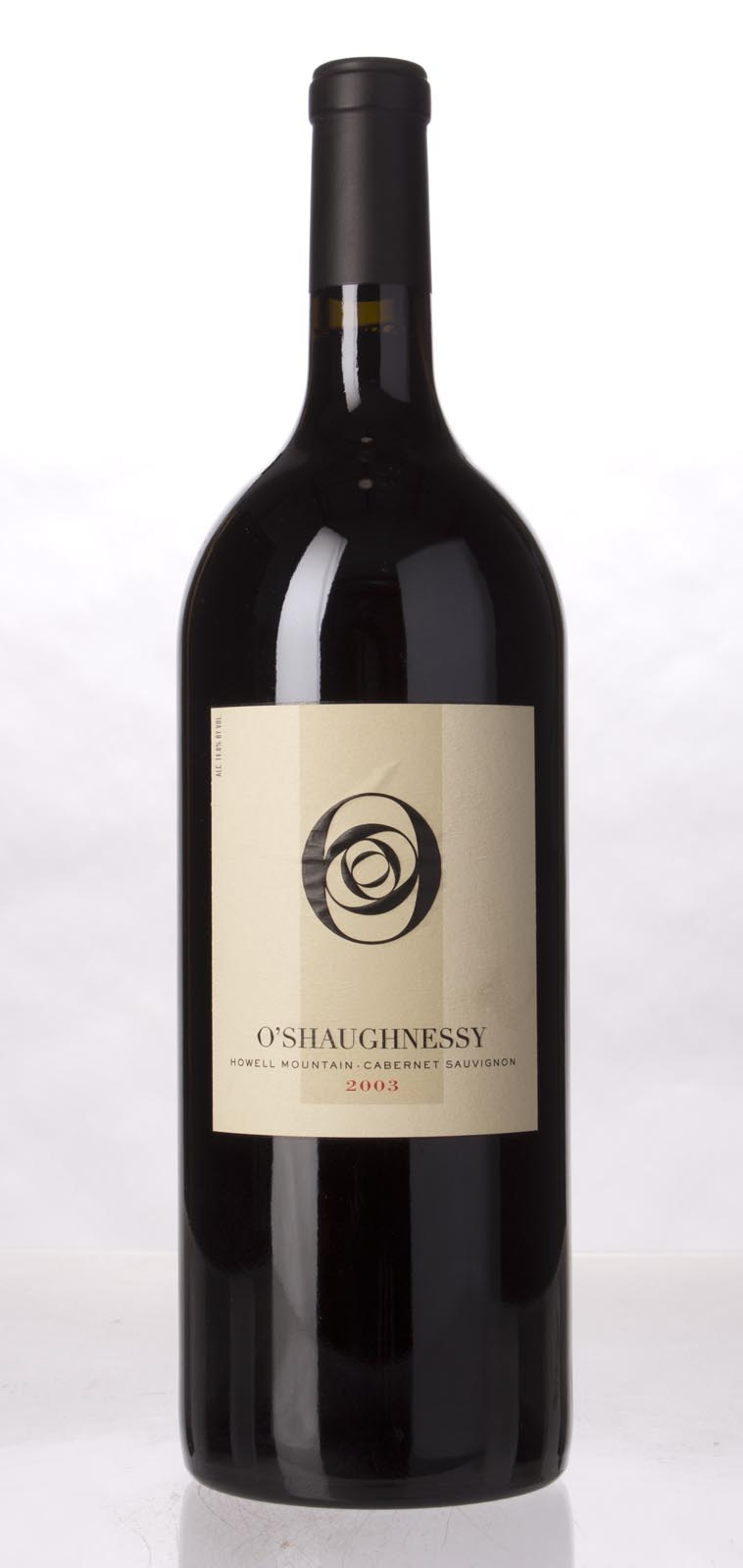 O`Shaughnessy Cabernet Sauvignon Howell Mountain 2003, 1.5L (WA94) from The BPW - Merchants of rare and fine wines.