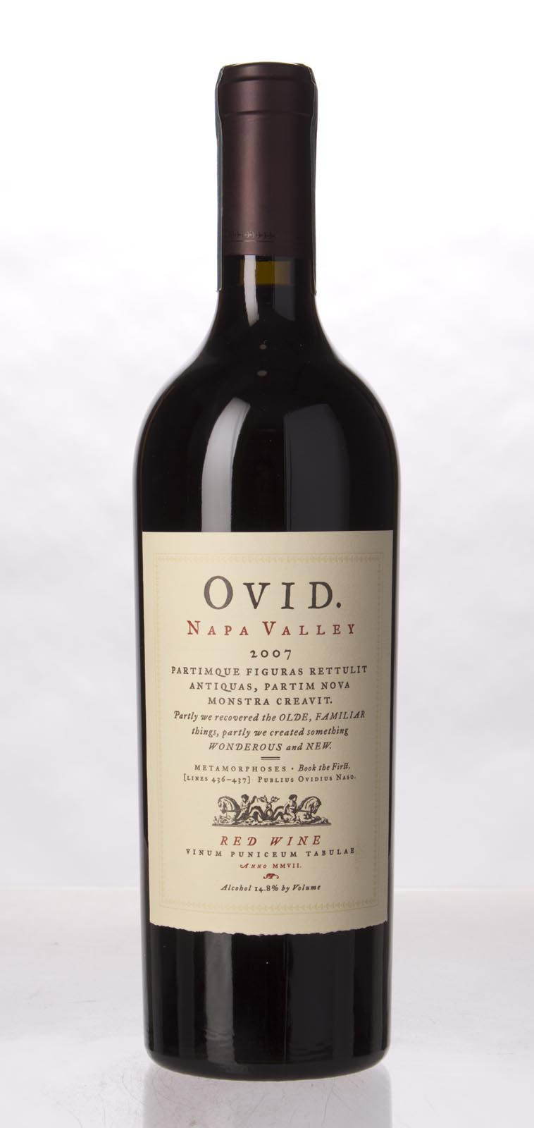 Ovid Winery Proprietary Red Napa Valley 2007, 750mL (WA97, ST95) from The BPW - Merchants of rare and fine wines.