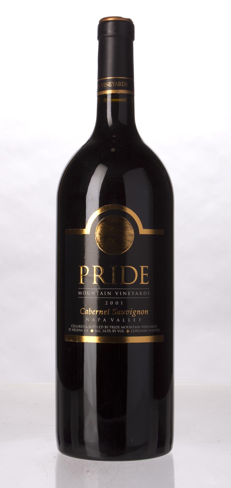 Pride Mountain Vineyards Cabernet Sauvignon 2001, 1.5L (WA95, WS93) from The BPW - Merchants of rare and fine wines.
