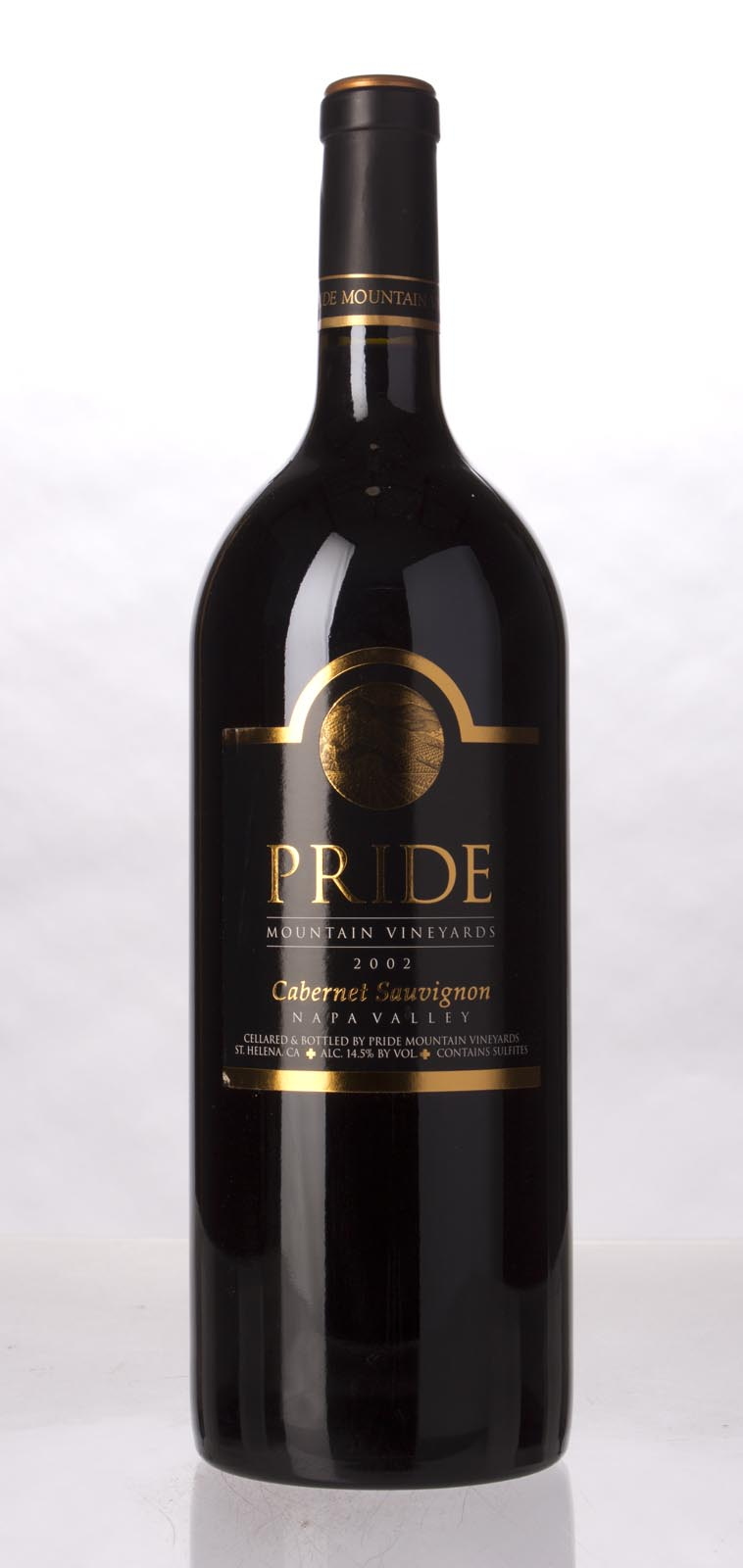 Pride Mountain Vineyards Cabernet Sauvignon 2002, 1.5L (WA92, WS93) from The BPW - Merchants of rare and fine wines.