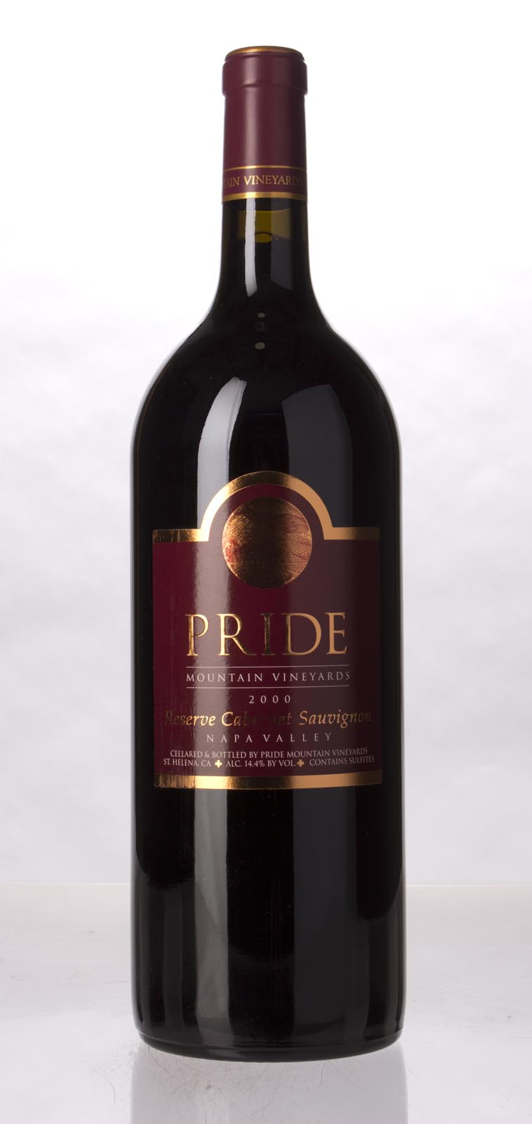 Pride Mountain Vineyards Cabernet Sauvignon Reserve 2000, 1.5L (ST91+) from The BPW - Merchants of rare and fine wines.