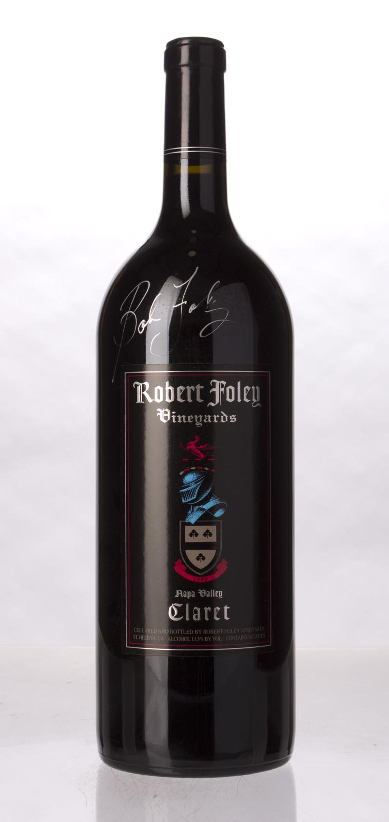 Robert Foley Vineyards Claret 1999, 1.5L (WA93, ST93, WS93) from The BPW - Merchants of rare and fine wines.