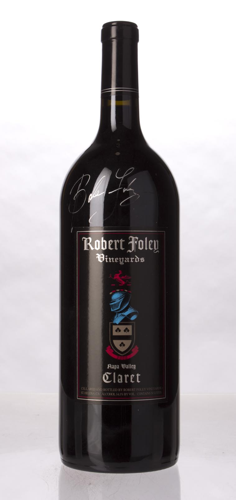 Robert Foley Vineyards Claret 2000, 1.5L (WA96) from The BPW - Merchants of rare and fine wines.