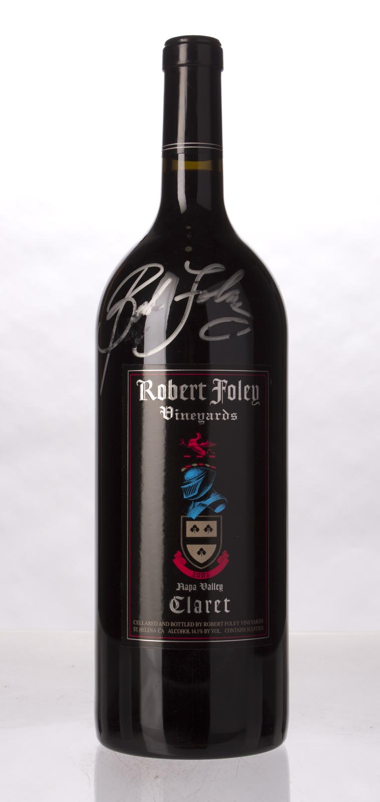 Robert Foley Vineyards Claret 2001, 1.5L (WA99) from The BPW - Merchants of rare and fine wines.