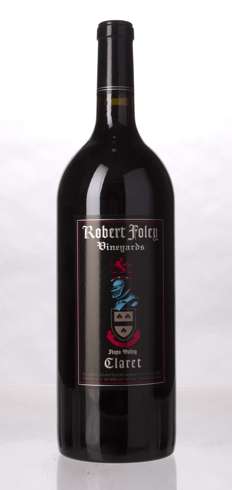 Robert Foley Vineyards Claret 2002, 1.5L (WA95, ST95, WS96) from The BPW - Merchants of rare and fine wines.