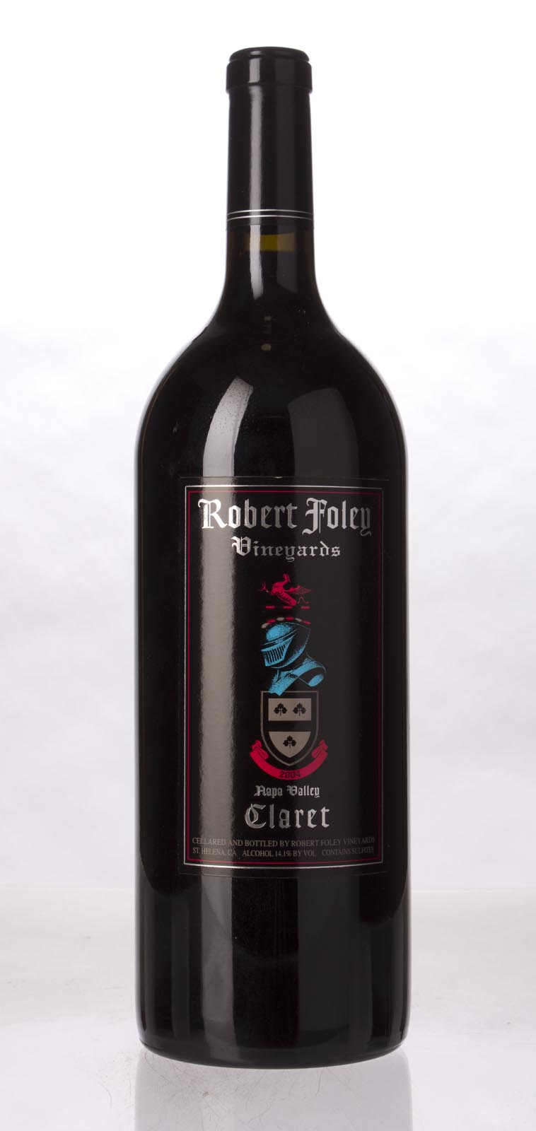 Robert Foley Vineyards Claret 2004, 1.5L (WA95) from The BPW - Merchants of rare and fine wines.