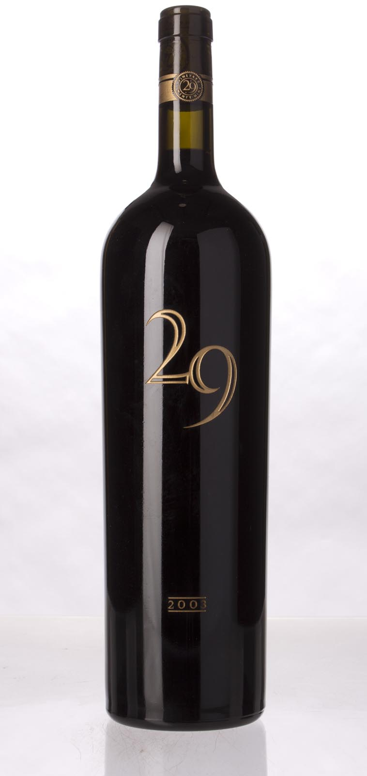 Vineyard 29 Cabernet Sauvignon Napa Valley 2003, 1.5L (WA95) from The BPW - Merchants of rare and fine wines.