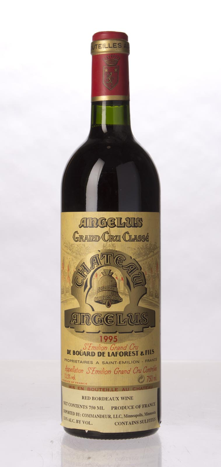 Angelus 1995, 750mL (WA95, WS95) from The BPW - Merchants of rare and fine wines.
