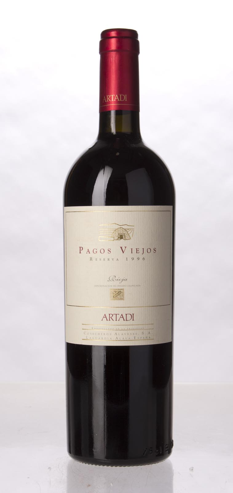 Artadi Pagos Viejos 1996, 750mL (WA93, ST93) from The BPW - Merchants of rare and fine wines.