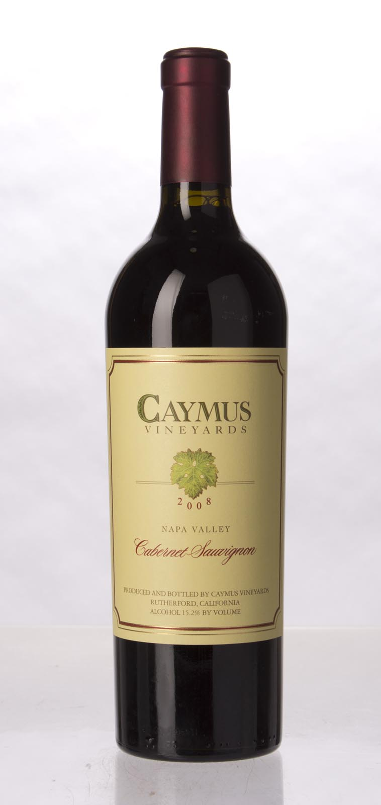 Caymus Cabernet Sauvignon Napa Valley 2008, 750mL (WS93) from The BPW - Merchants of rare and fine wines.