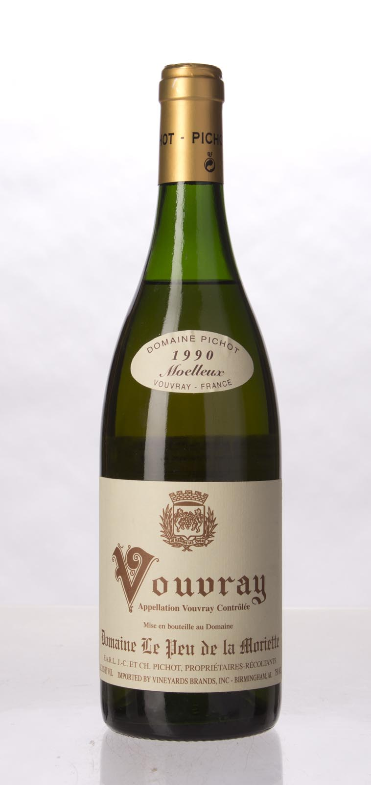 Domaine le Peu de la Moriette (Jean Claude Pichot) Vouvray 1990, 750mL () from The BPW - Merchants of rare and fine wines.