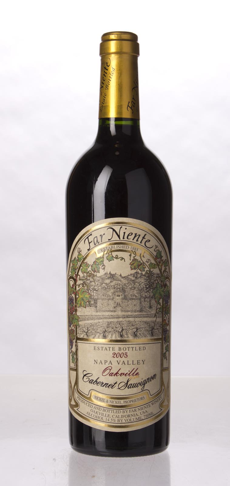 Far Niente Cabernet Sauvignon Oakville 2005, 750mL () from The BPW - Merchants of rare and fine wines.