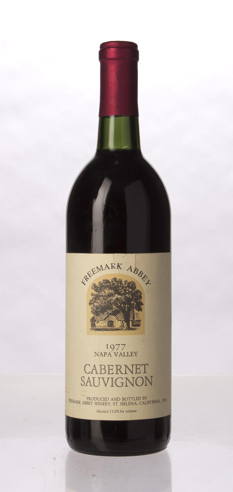Freemark Abbey Cabernet Sauvignon Napa Valley 1977, 750mL () from The BPW - Merchants of rare and fine wines.