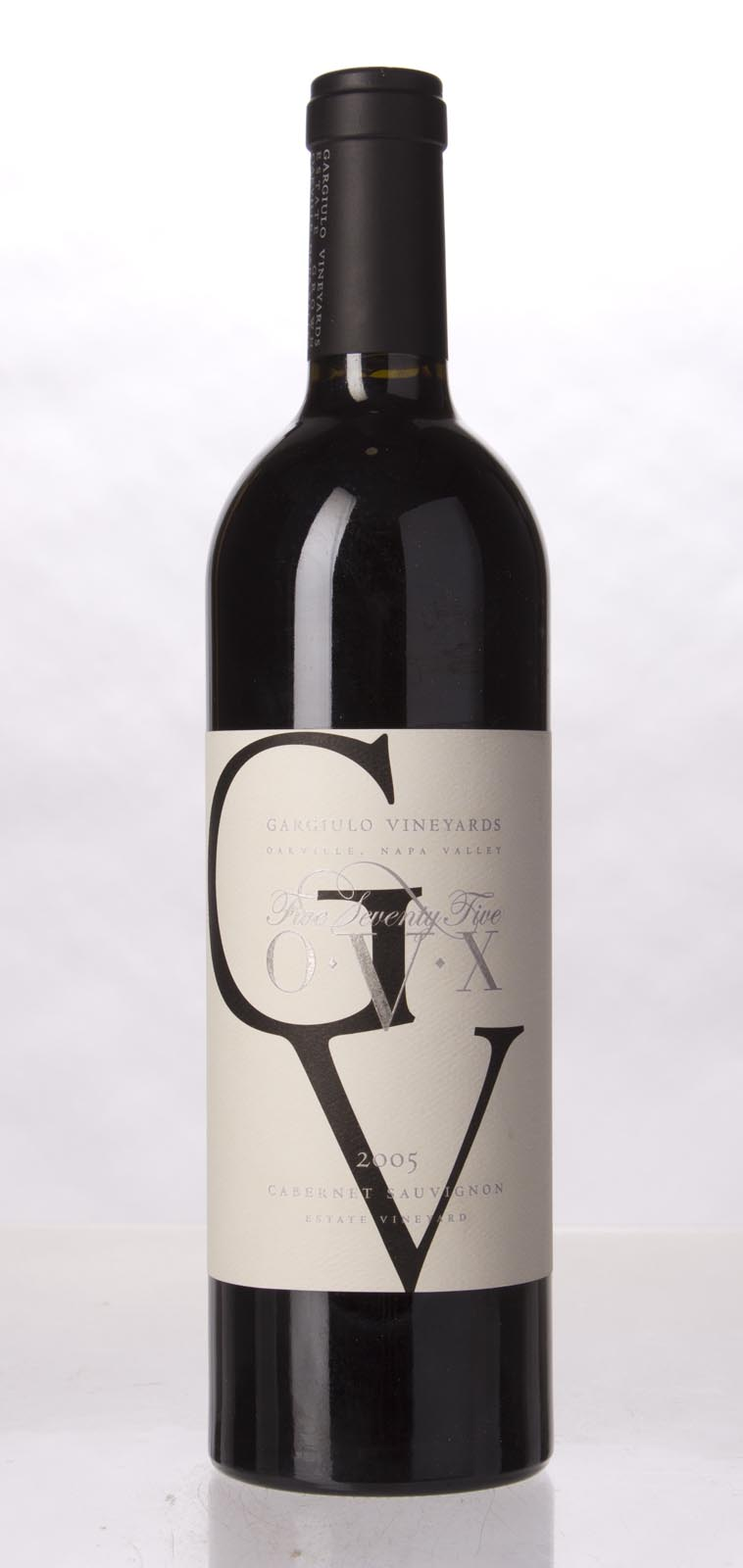 Gargiulo Vineyards Cabernet Sauvignon 575 OVX 2005, 750mL () from The BPW - Merchants of rare and fine wines.