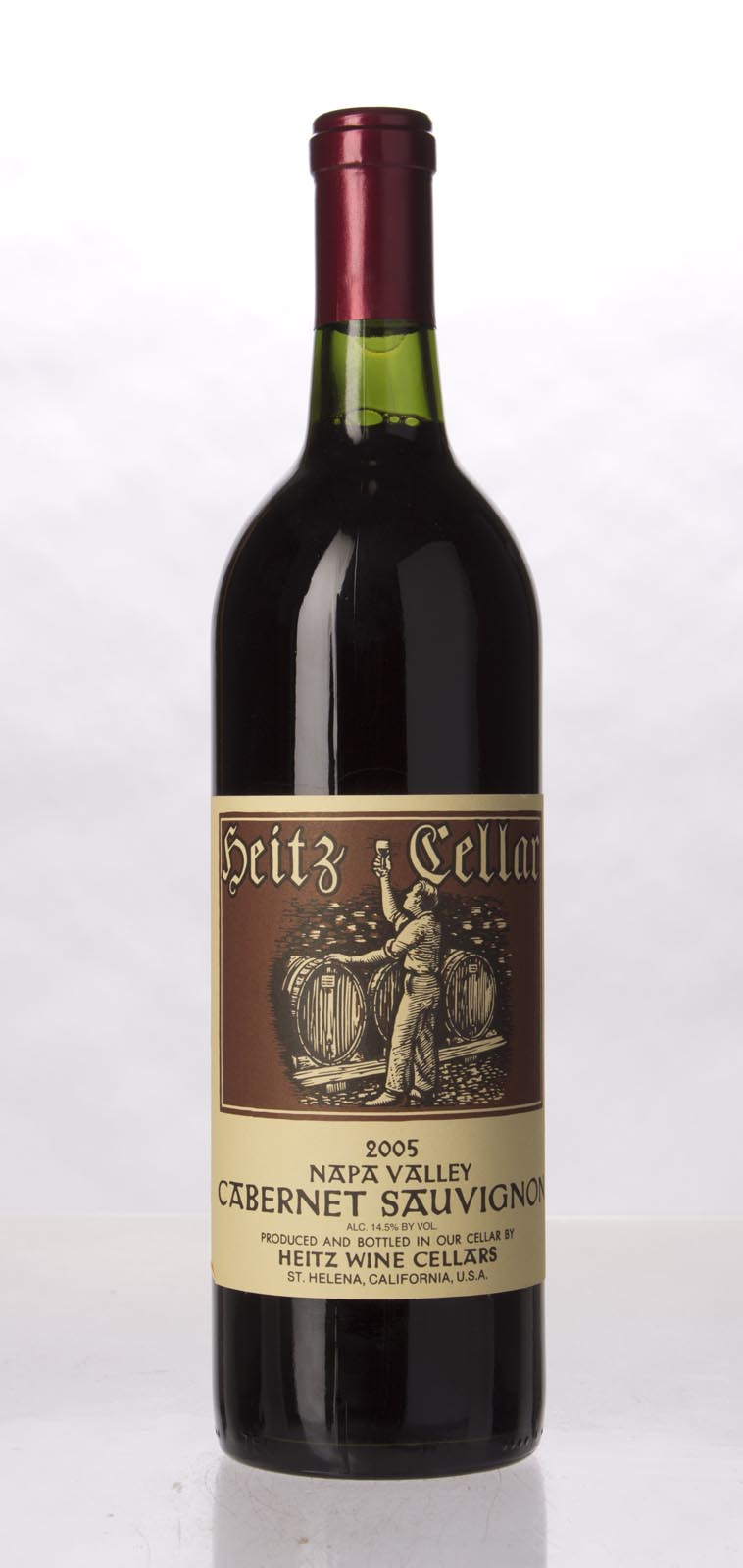 Heitz Cabernet Sauvignon Napa Valley 2005, 750mL () from The BPW - Merchants of rare and fine wines.