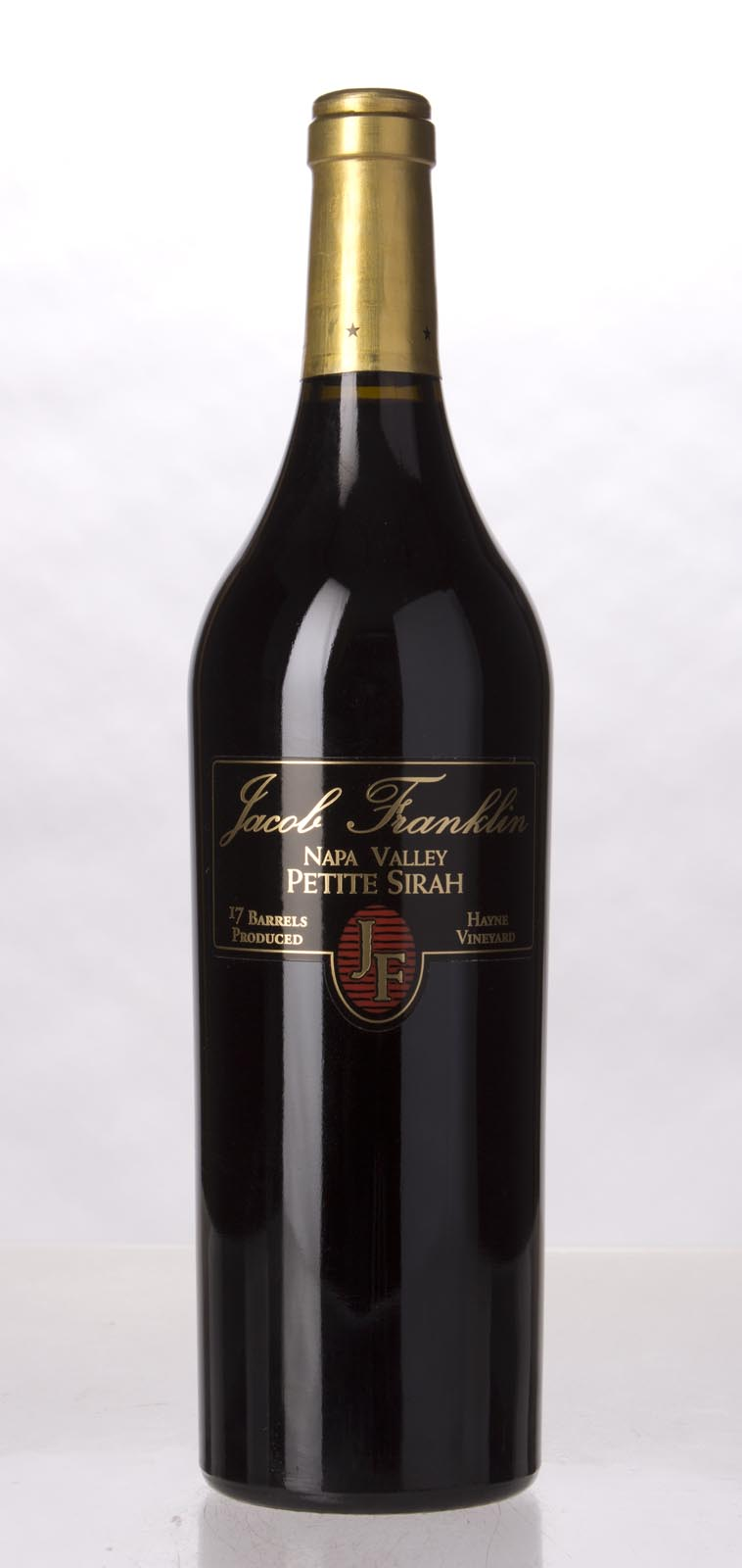 Jacob Franklin Petite Sirah Hayne Vineyard 2009, 750mL () from The BPW - Merchants of rare and fine wines.