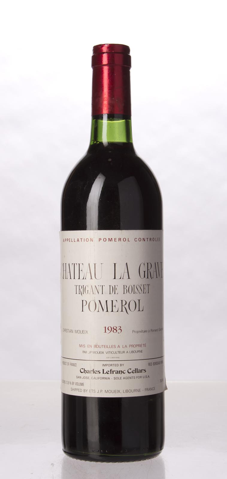 La Grave a Pomerol 1983, 750mL () from The BPW - Merchants of rare and fine wines.