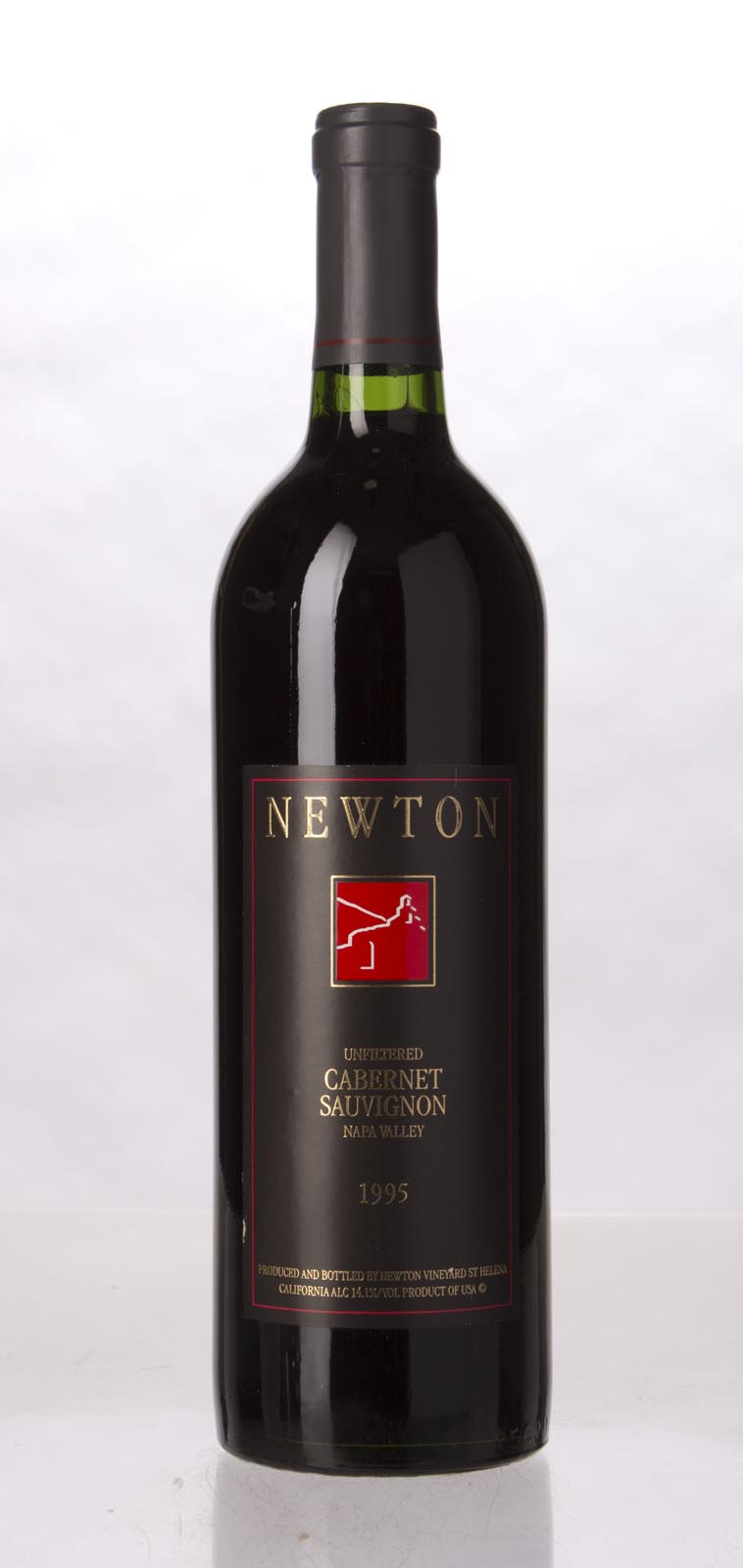 Newton Cabernet Sauvignon Napa Valley Unfiltered 1995, 750mL (WA92) from The BPW - Merchants of rare and fine wines.