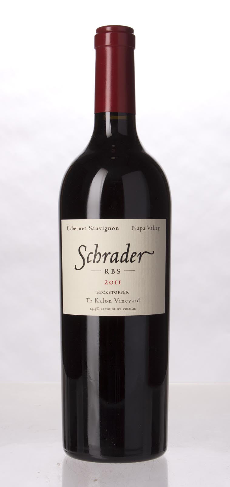 Schrader Cellars Cabernet Sauvignon Beckstoffer To Kalon Vineyard RBS 2011, 750ml () from The BPW - Merchants of rare and fine wines.