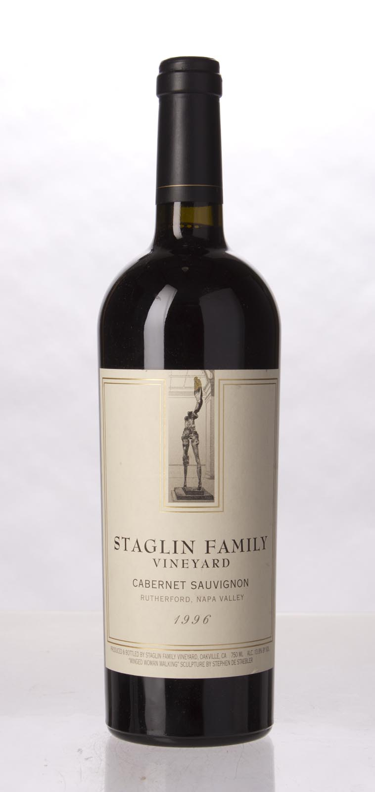 Staglin Family Vineyard Cabernet Sauvignon Rutherford 1996, 750mL (WA90) from The BPW - Merchants of rare and fine wines.