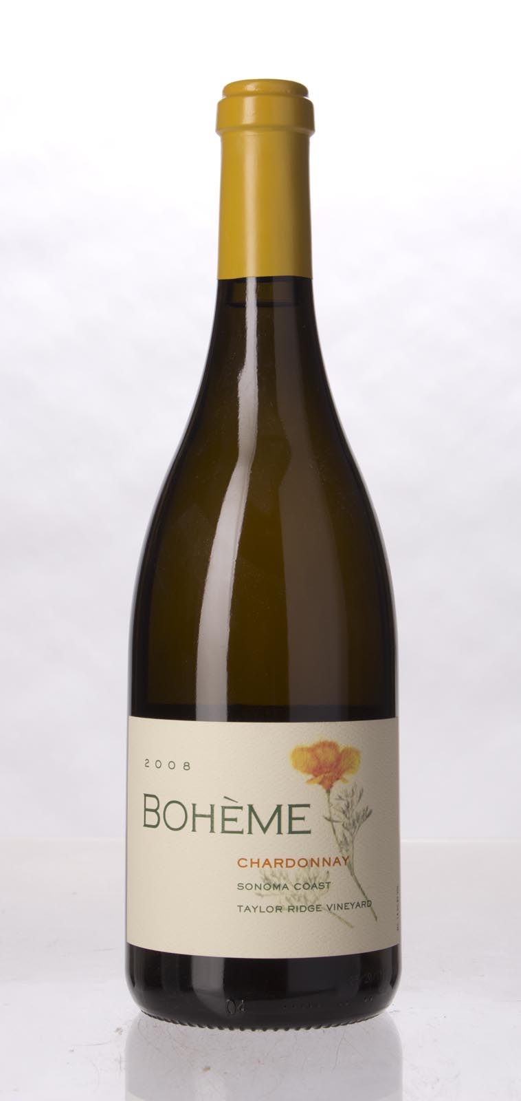 Boheme Chardonnay Taylor Ridge Vineyard 2008,  (ST92, WS92) from The BPW - Merchants of rare and fine wines.