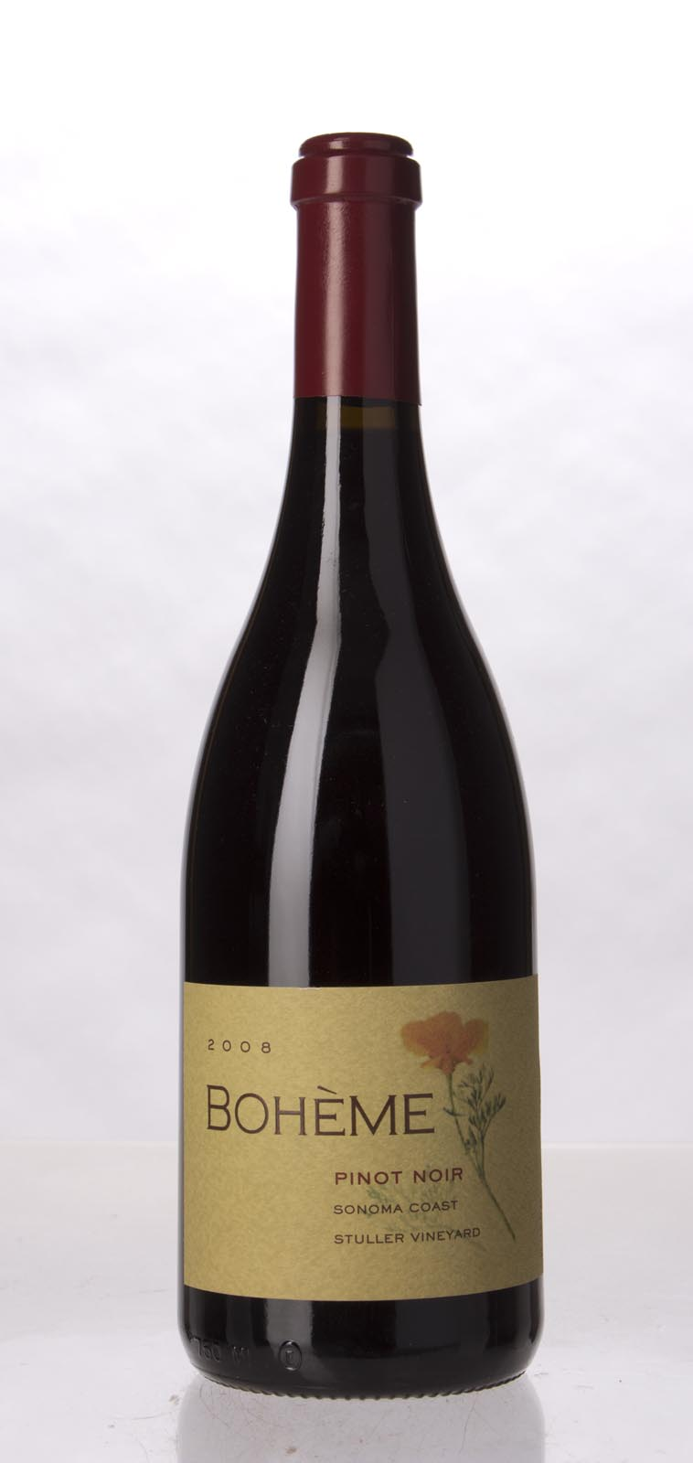 Boheme Pinot Noir Stuller Vineyard 2008, 750mL () from The BPW - Merchants of rare and fine wines.