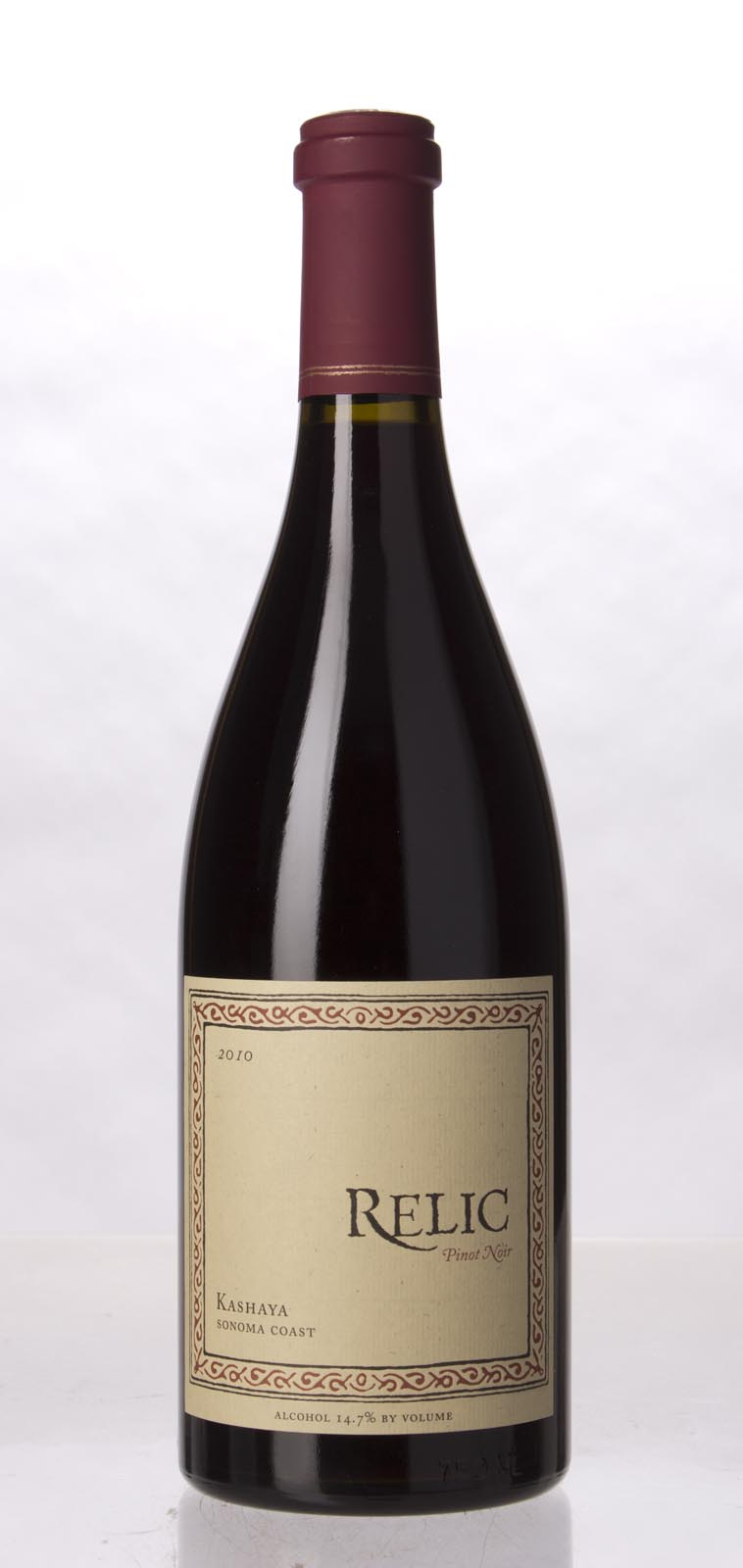Relic Pinot Noir Kashaya 2010, 750mL () from The BPW - Merchants of rare and fine wines.