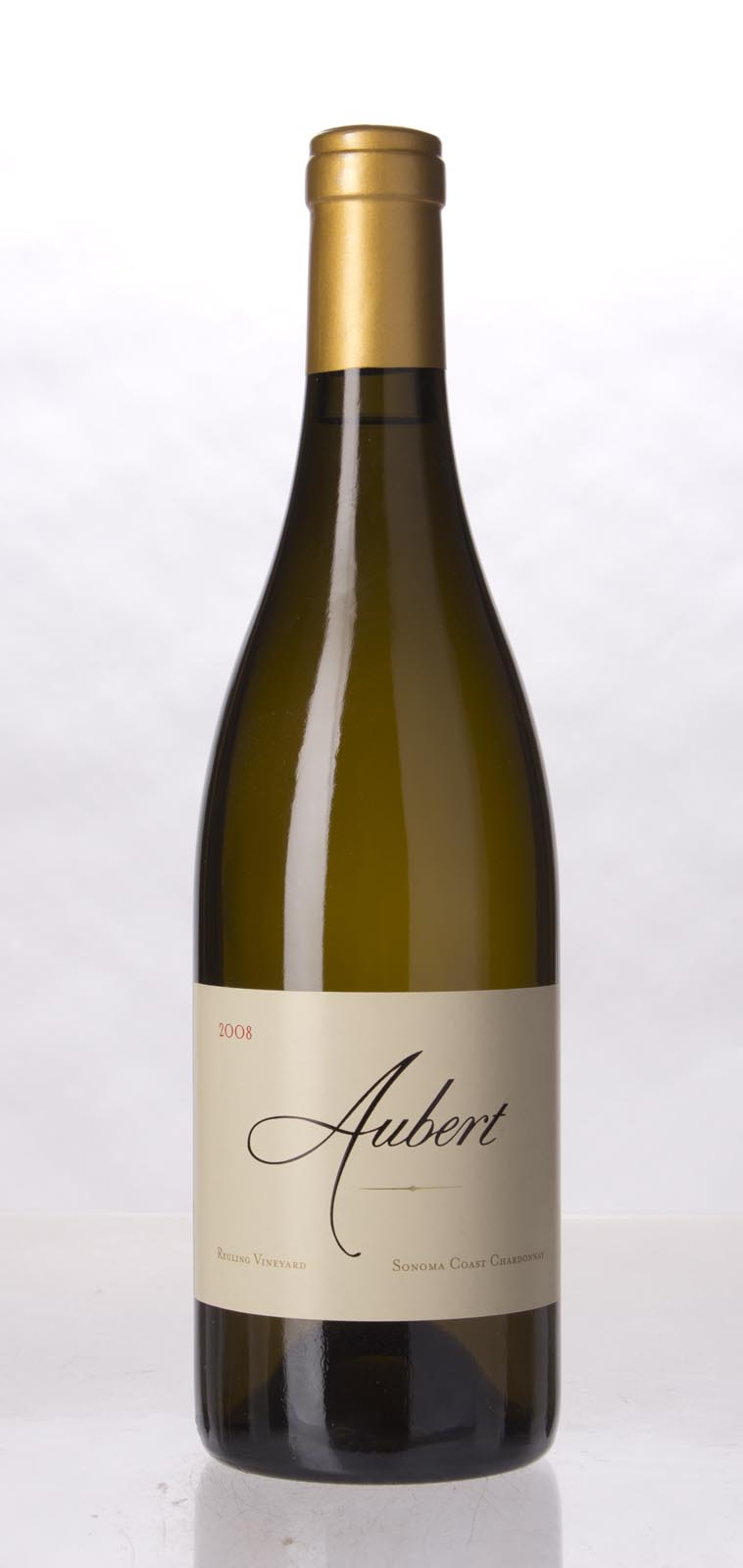 Aubert Chardonnay Reuling Vineyard 2008, 750mL (WA99, WS97) from The BPW - Merchants of rare and fine wines.