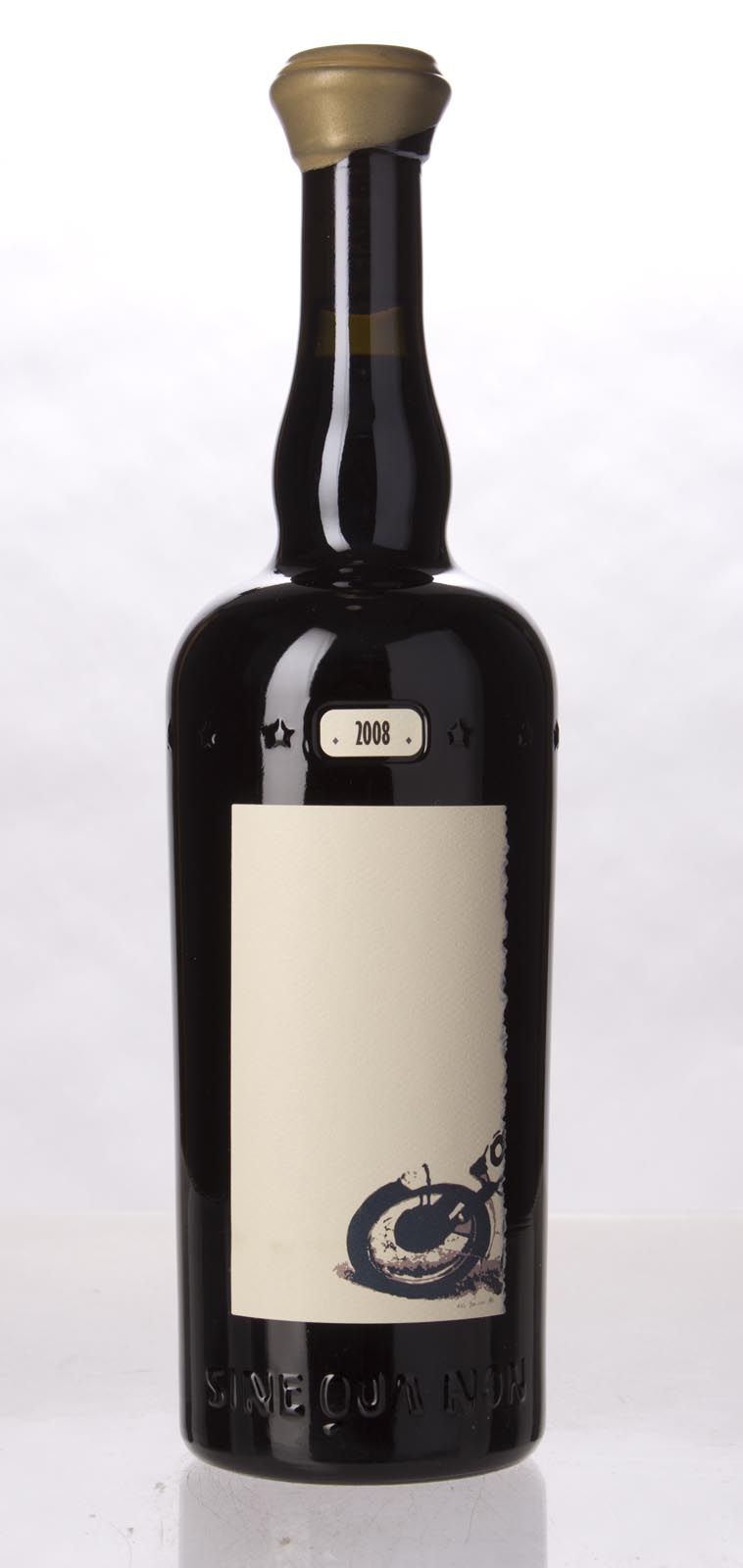 Sine Qua Non Syrah The Duel Eleven Confessions Vineyard 2008, 750mL (WA97+, ST95) from The BPW - Merchants of rare and fine wines.