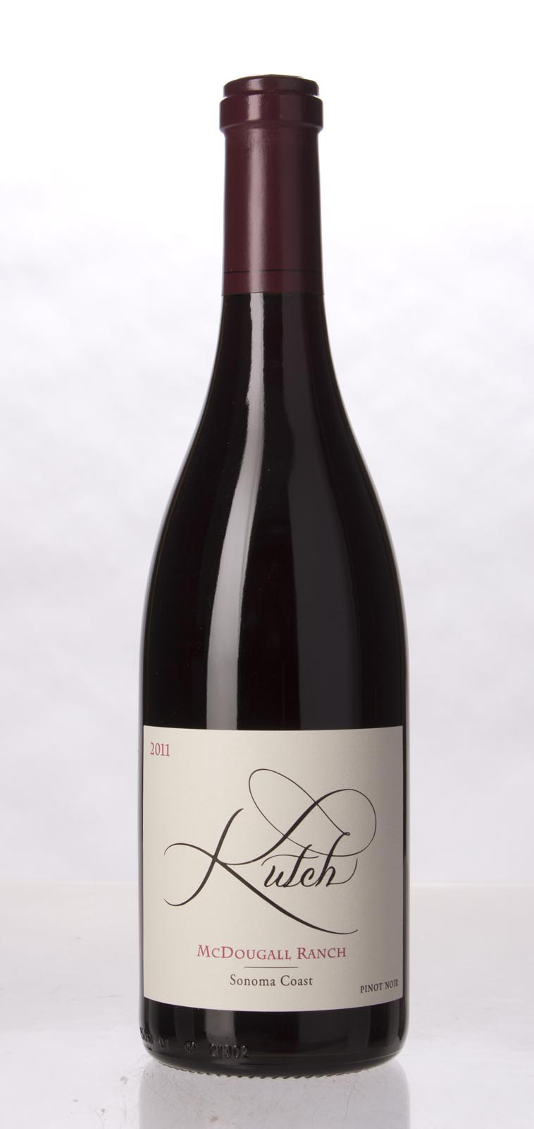 Kutch Pinot Noir McDougall Ranch 2011, 750mL (WA95) from The BPW - Merchants of rare and fine wines.