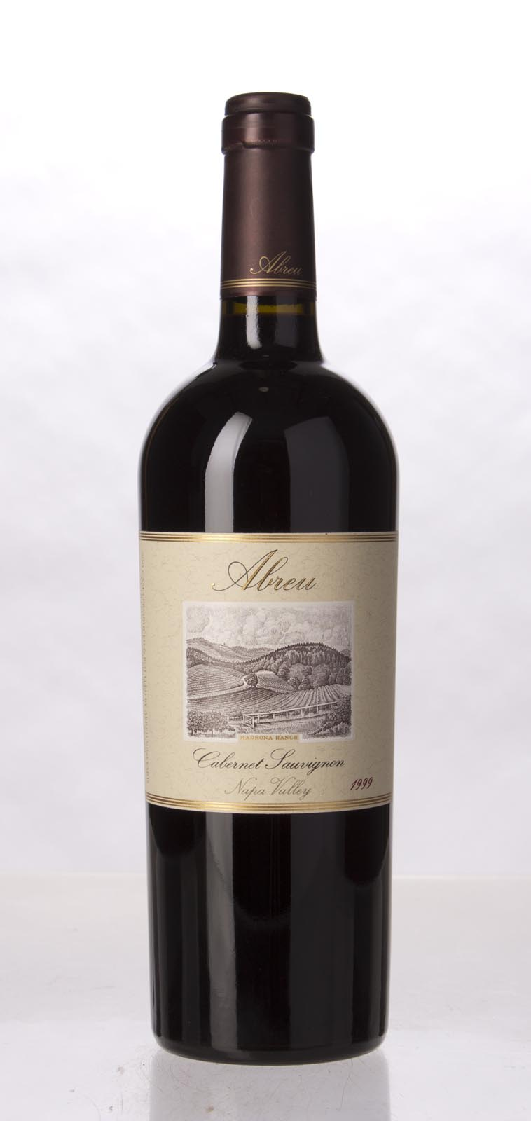 Abreu Cabernet Sauvignon Madrona Ranch 1999, 750mL (WA93) from The BPW - Merchants of rare and fine wines.