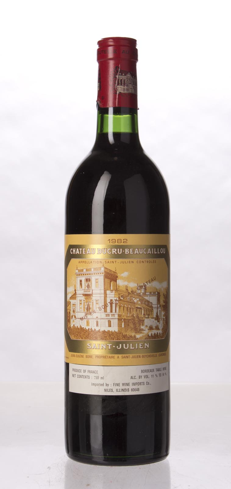 Ducru Beaucaillou 1982, 750mL (WA96) from The BPW - Merchants of rare and fine wines.