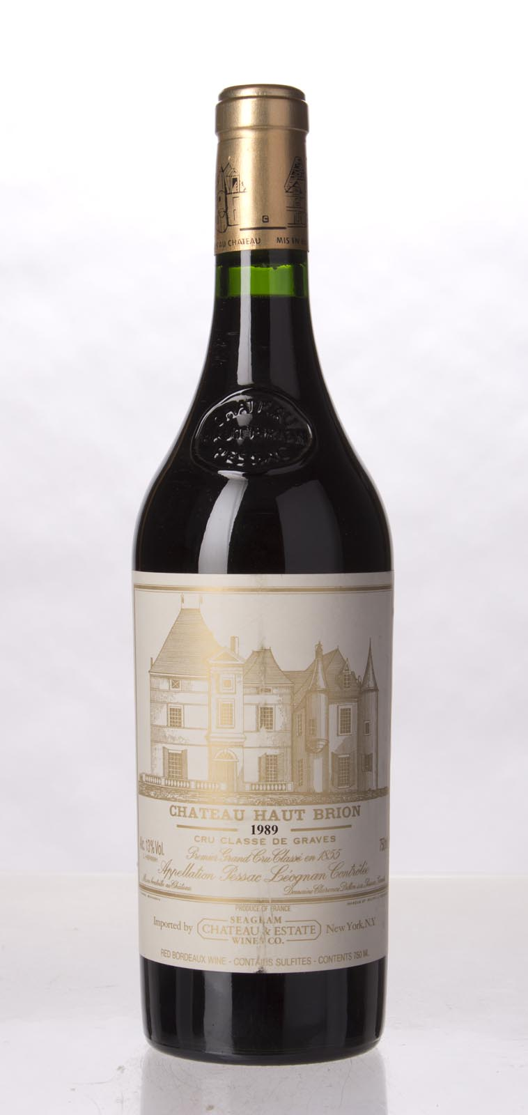 Haut Brion 1989, 750mL (WA100, ST97, WS100) from The BPW - Merchants of rare and fine wines.