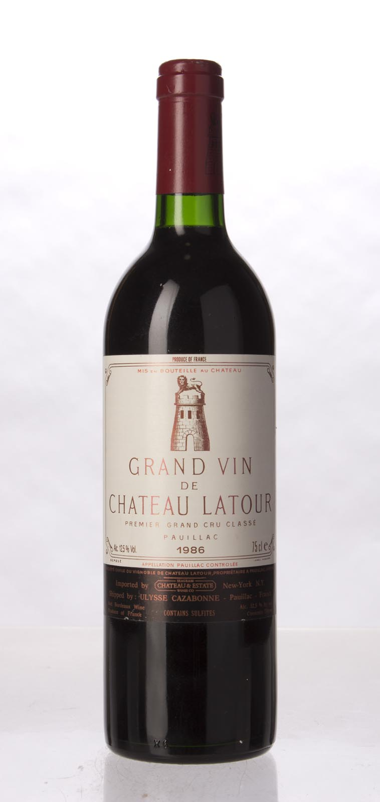 Latour 1986, 750mL (WS96) from The BPW - Merchants of rare and fine wines.