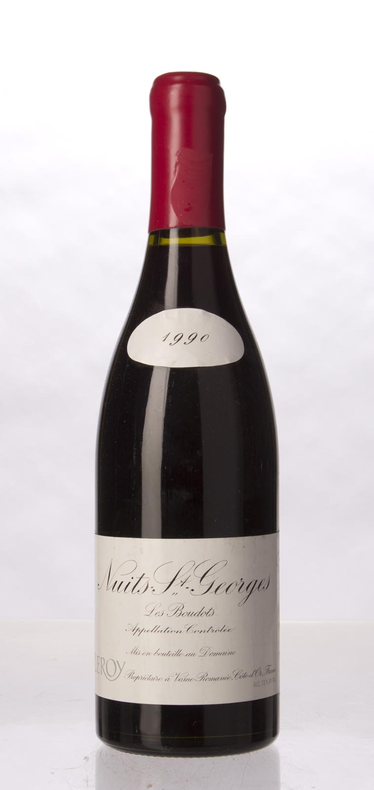 Leroy Nuits St. Georges les Boudots 1990, 750mL (WA94, WS94) from The BPW - Merchants of rare and fine wines.