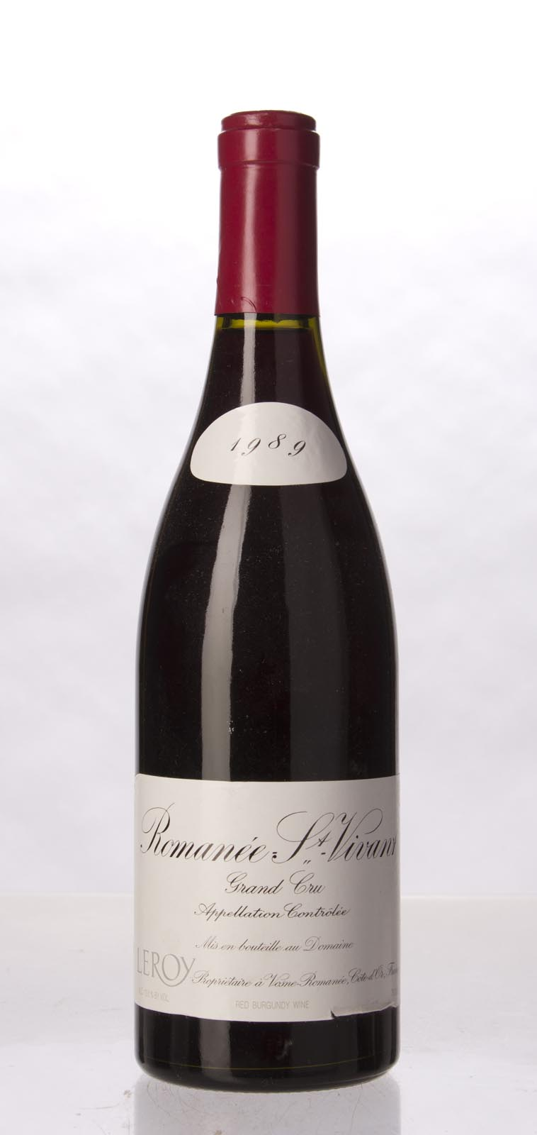 Leroy Romanee St. Vivant 1989, 750mL (WS95) from The BPW - Merchants of rare and fine wines.