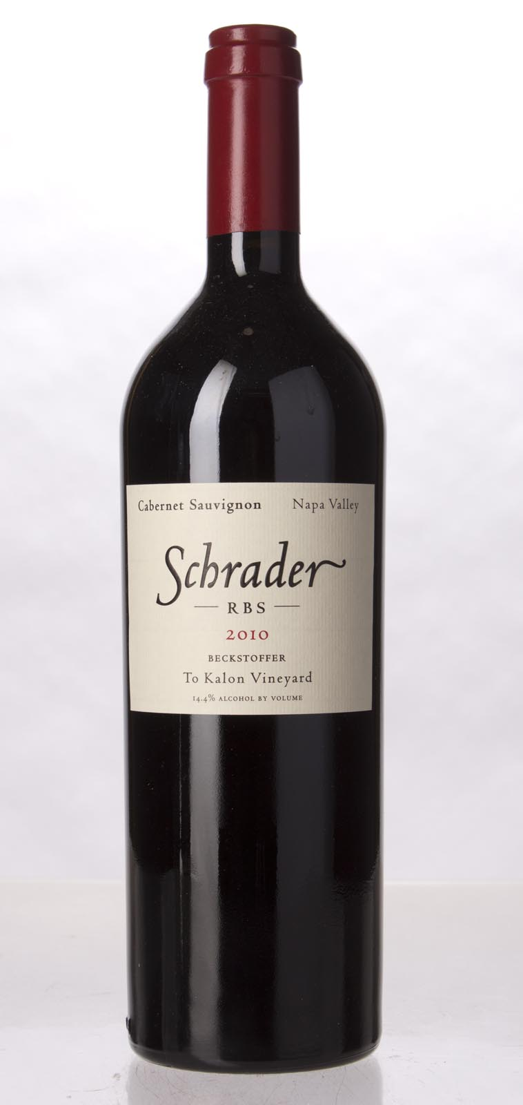Schrader Cellars Cabernet Sauvignon Beckstoffer To Kalon Vineyard RBS 2010, 750mL (WA97, WS96) from The BPW - Merchants of rare and fine wines.