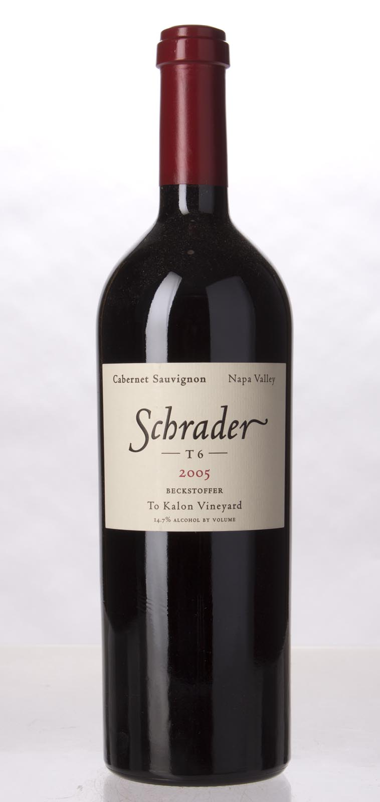 Schrader Cellars Cabernet Sauvignon Beckstoffer To Kalon Vineyard T6 2005, 750mL (WA95, WS97) from The BPW - Merchants of rare and fine wines.