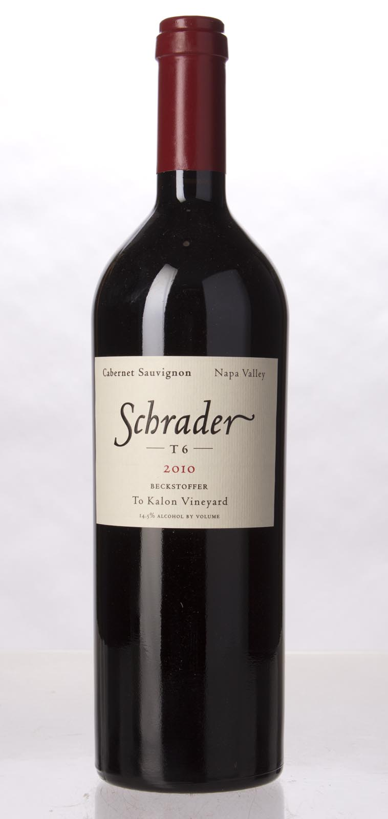 Schrader Cellars Cabernet Sauvignon Beckstoffer To Kalon Vineyard T6 2010, 750mL (WA96+, WS96) from The BPW - Merchants of rare and fine wines.