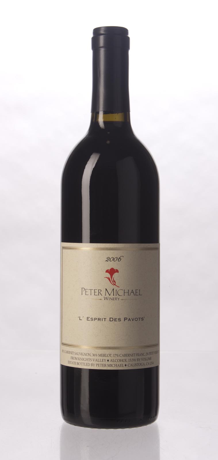 Peter Michael Winery L`Esprit des Pavots 2006, 750mL (ST91) from The BPW - Merchants of rare and fine wines.