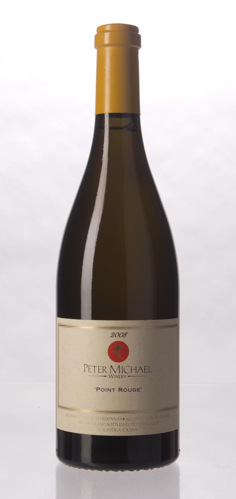 Peter Michael Winery Chardonnay Point Rouge 2008, 750mL (WA98, WS96) from The BPW - Merchants of rare and fine wines.