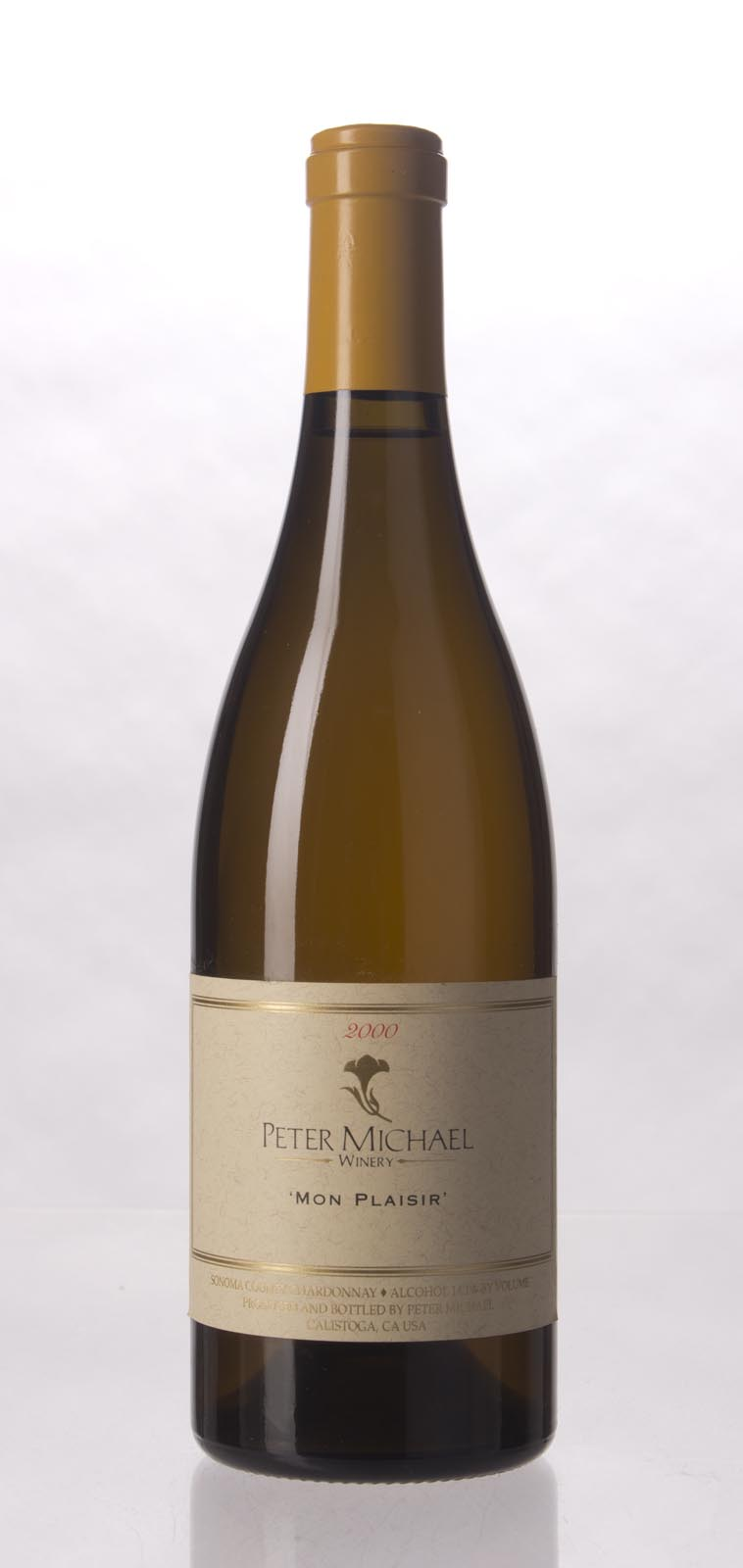 Peter Michael Winery Chardonnay Mon Plaisir 2000, 750mL (ST91) from The BPW - Merchants of rare and fine wines.