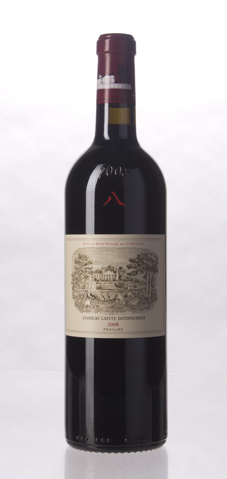 Lafite Rothschild 2008, 750mL (WA98) from The BPW - Merchants of rare and fine wines.