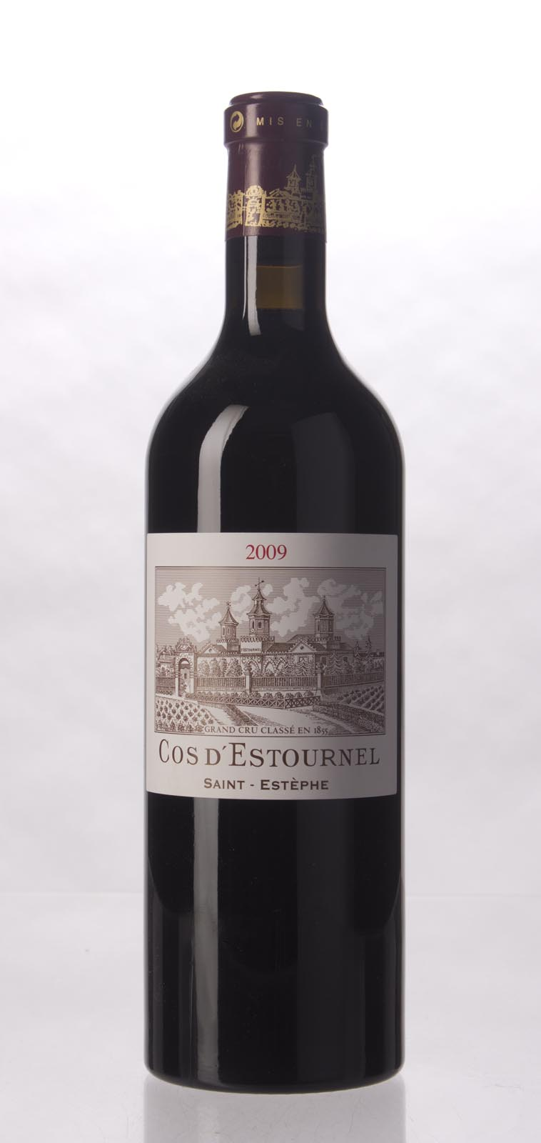 Cos d`Estournel 2009, 750mL (JS100, WA100) from The BPW - Merchants of rare and fine wines.