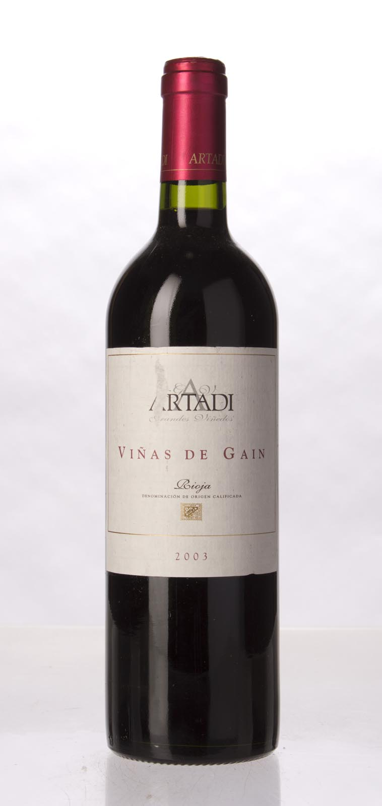 Artadi Vinas de Gain 2003, 750mL (WA93) from The BPW - Merchants of rare and fine wines.