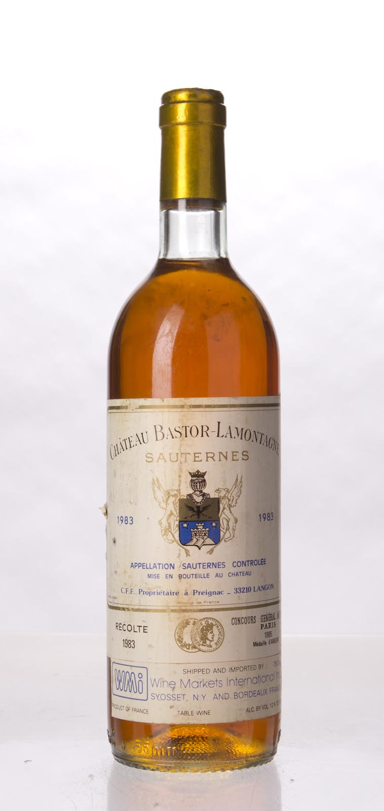 Bastor Lamontagne 1993, 750mL () from The BPW - Merchants of rare and fine wines.